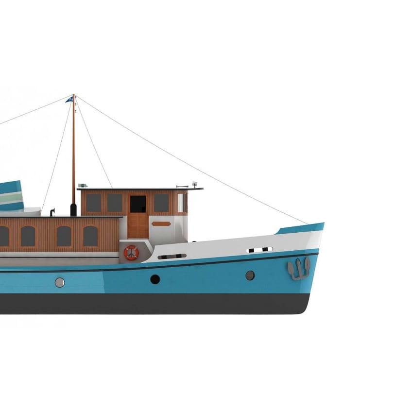 Brochure scheepsmodellen Talsma